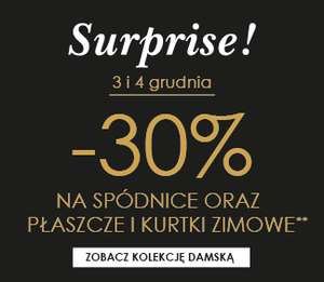 Rabat 30% na spódnice, płaszcze i kurtki zimowe @ Promod