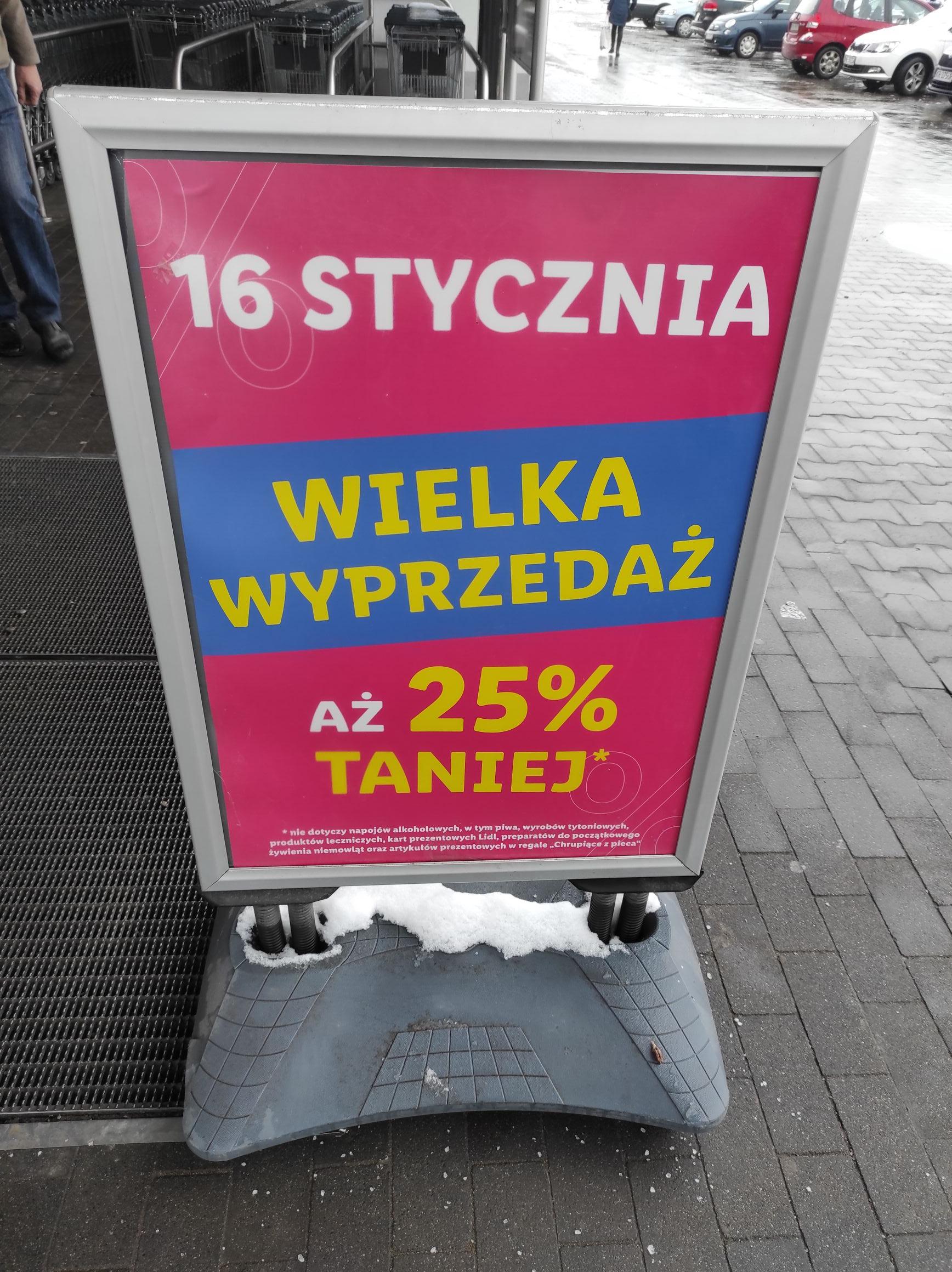 Lidl Kraków os. Piastów -25% lokalnie