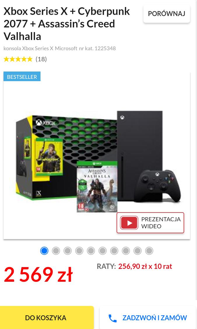 Xbox series X + Cyberpunk 2077 + AC Valhalla