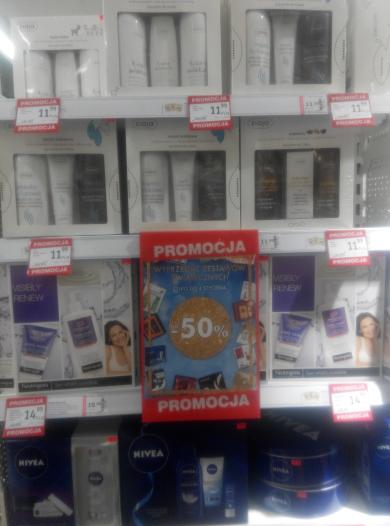 -50% na zestawy świąteczne kosmetyków w Superpharm