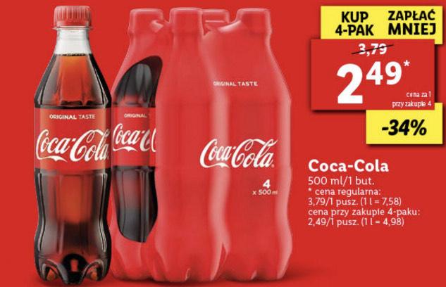 Coca cola 0.5 L