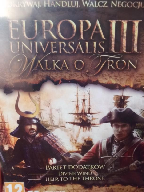 Tesco. Mix gier. Europa Universalis III Walka o Tron