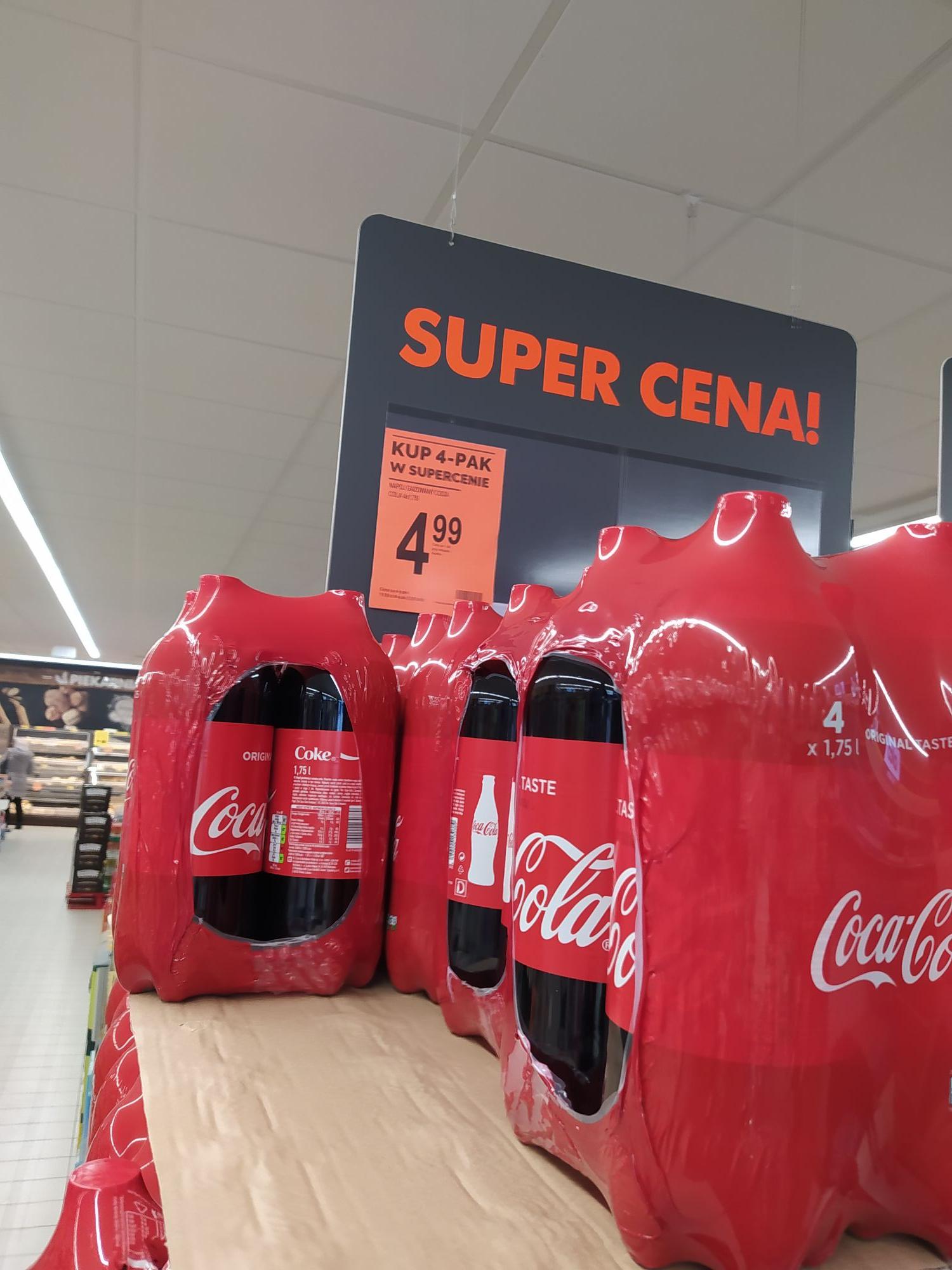 Coca Cola 4x 1.75