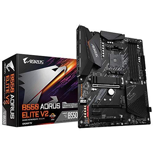 Gigabyte Aorus b550 elite V2 płyta głowna AM4 amazon.fr