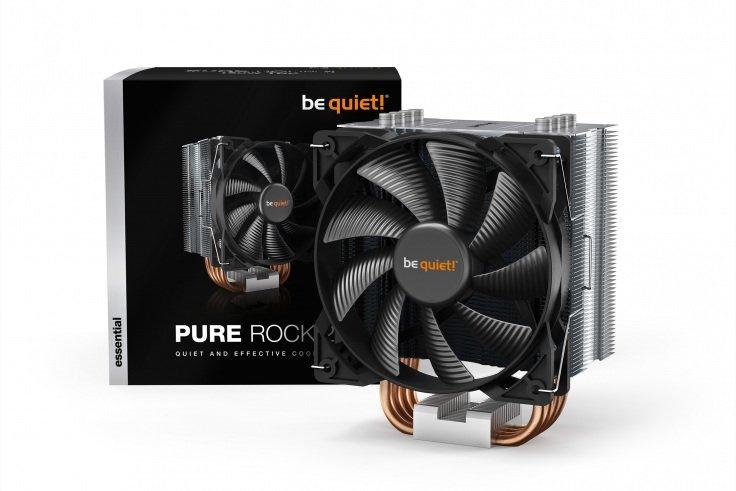 Chłodzenie procesora be quiet! Pure Rock 2 - Headshot w proline