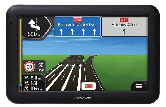 Nawigacja NAVON A500 w Tesco
