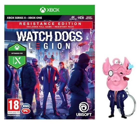 Watch Dogs Legion - Edycja Resistance + brelok PS4 - 139 zł, Dreams 69 zł i inne, nocna promocja RTV Euro AGD PS4 PS5 Xbox One Xbox Series