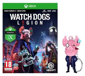 Gra Watch Dogs Legion na XBOX ONE+ brelok w RTV EURO AGD