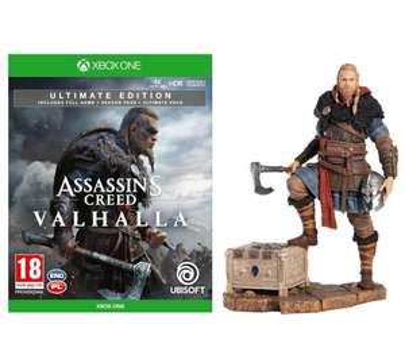 Gra Assassin's Creed Valhalla Ultimate + Figurka Eivor (Xbox One / Xbox Series X)