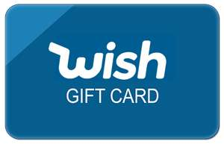 Karta upominkowa o wartości 16.83zł (5$) na zakupy @ Wish.com