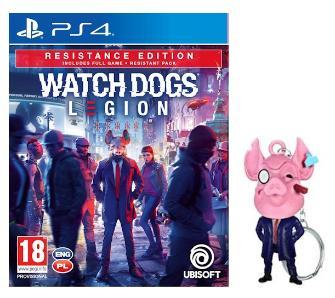 Gra Watch Dogs Legion - Edycja Resistance + brelok (PS4 / PS5)