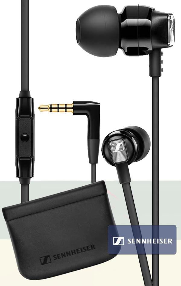Słuchawki przewodowe dokanałowe Sennheiser CX 300S + etui