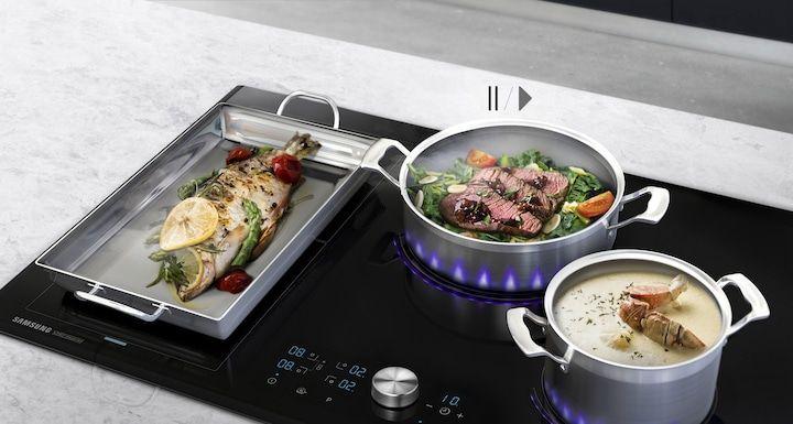 Płyta indukcyjna Samsung Chef Collection NZ84J9770EK