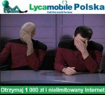 Rejestracja kart SIM w Lycamobile 1000zł i nielimitowany Internet na 30 dni