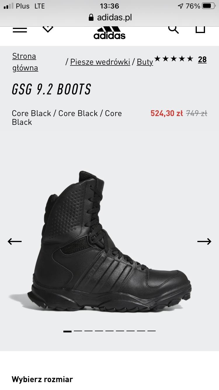 Buty obuwie taktyczne Adidas GSG9