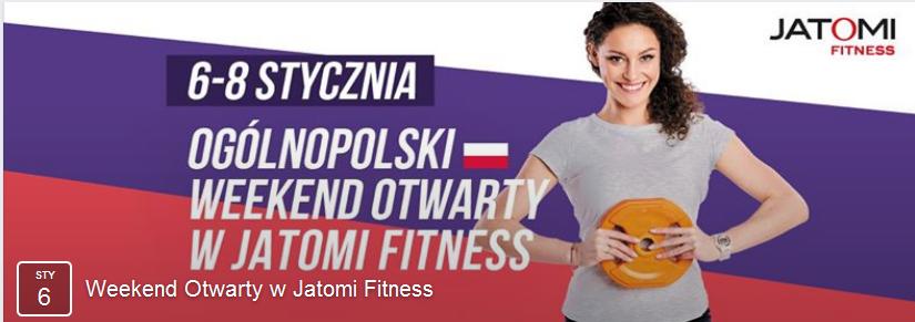 Ogólnopolski weekend otwarty w Jatomi Fitness @ Jatomi