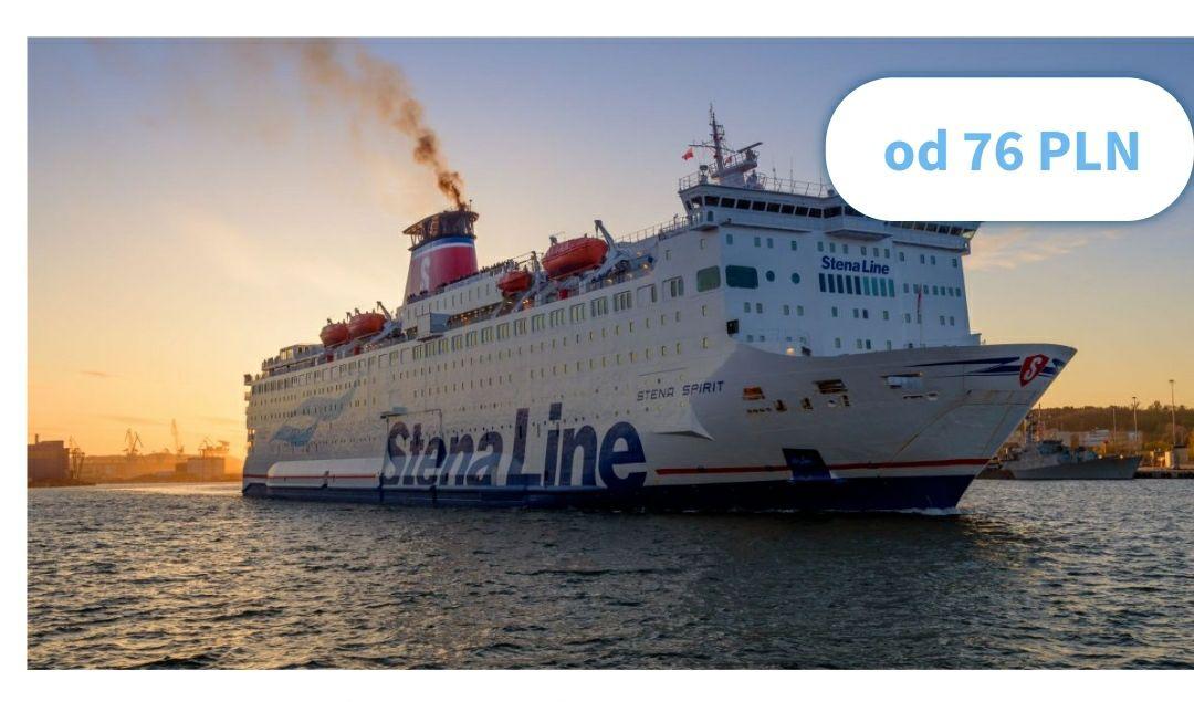 Wyprzedaż w Stena Line trwa! Rejsy do Szwecji latem i w wakacje w świetnej cenie 76 PLN/osoba