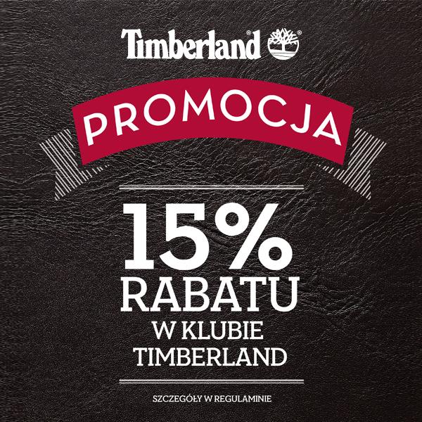 15% rabatu na cały asortyment @ Timberland