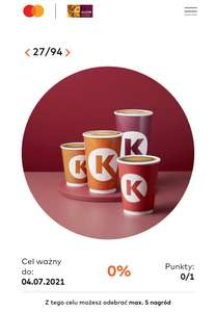 Kawa Circle K za 1pkt w Bezcenne Chwile