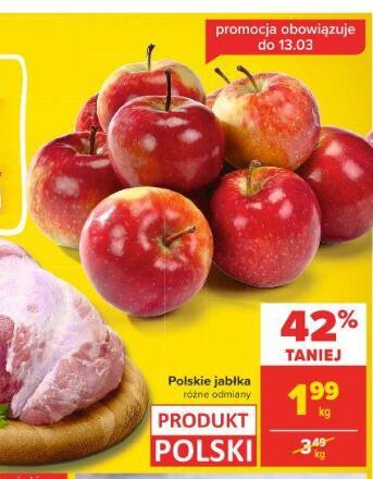 Jabłka kg różne odmiany @Carrefour
