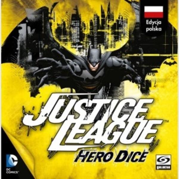 Gry karciane Justice League: Hero Dice - Batman (BGG 6.4) lub Superman (BGG 6.5)