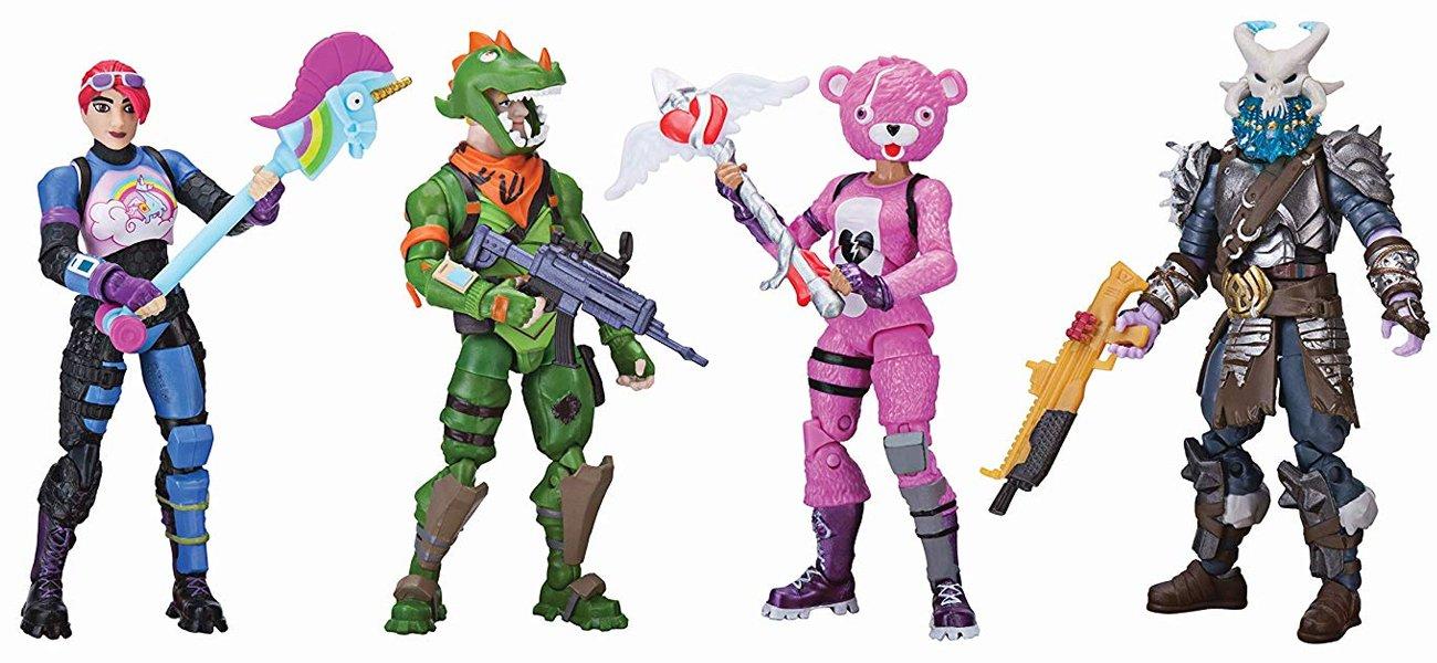 TM Toys FORTNITE Figurki 4 PAK FNT00
