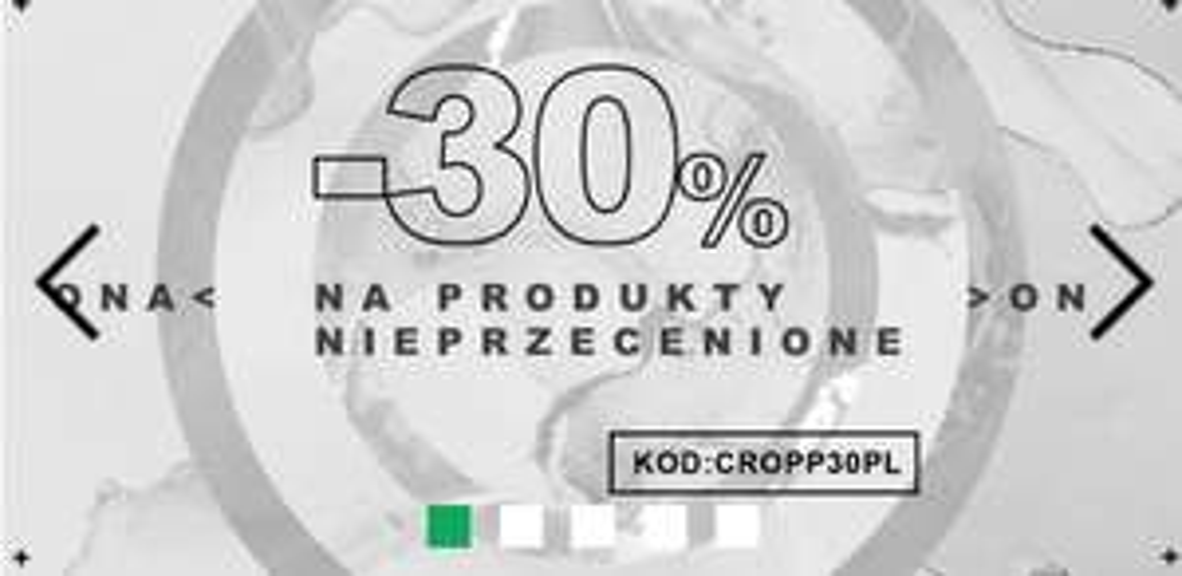 KUPON NA NOWA KOLEKCJE CROPP -30%