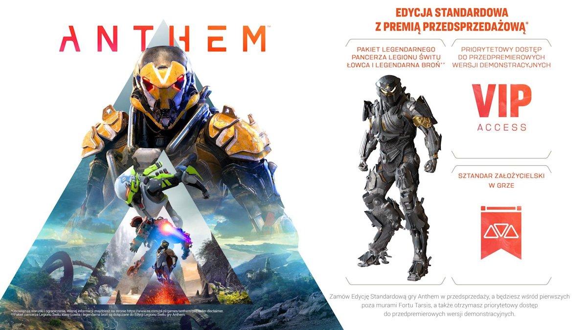 Anthem PC DVD Origin i inne