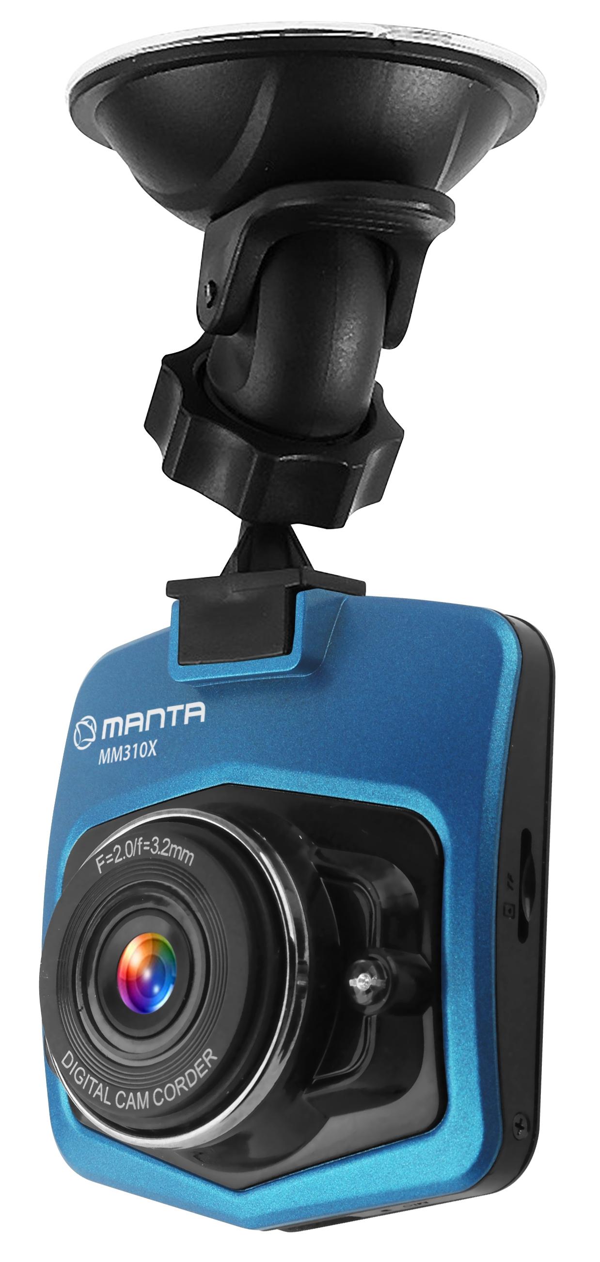 Wideorejestrator, kam. samochodowa Manta MM310X