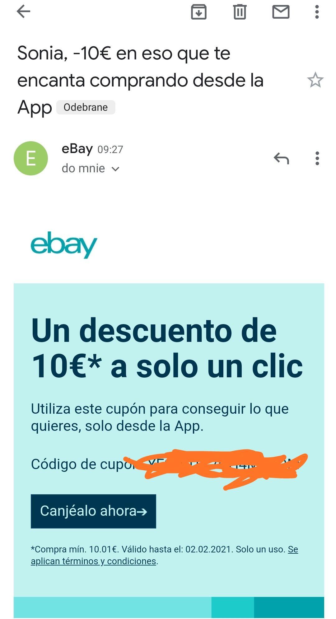 Kupon - 10€ od MWZ 10.01€