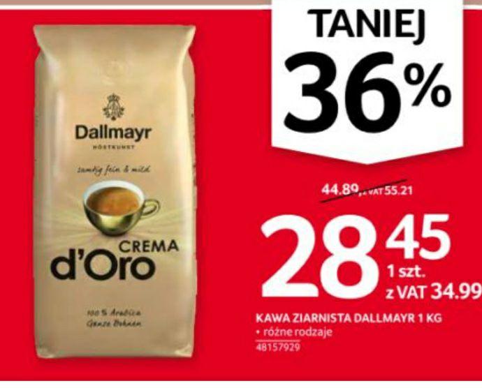 Kawa ziarnista Dallmayr Crema d'Oro, 1kg (+możliwa czekolada gratis), Selgros
