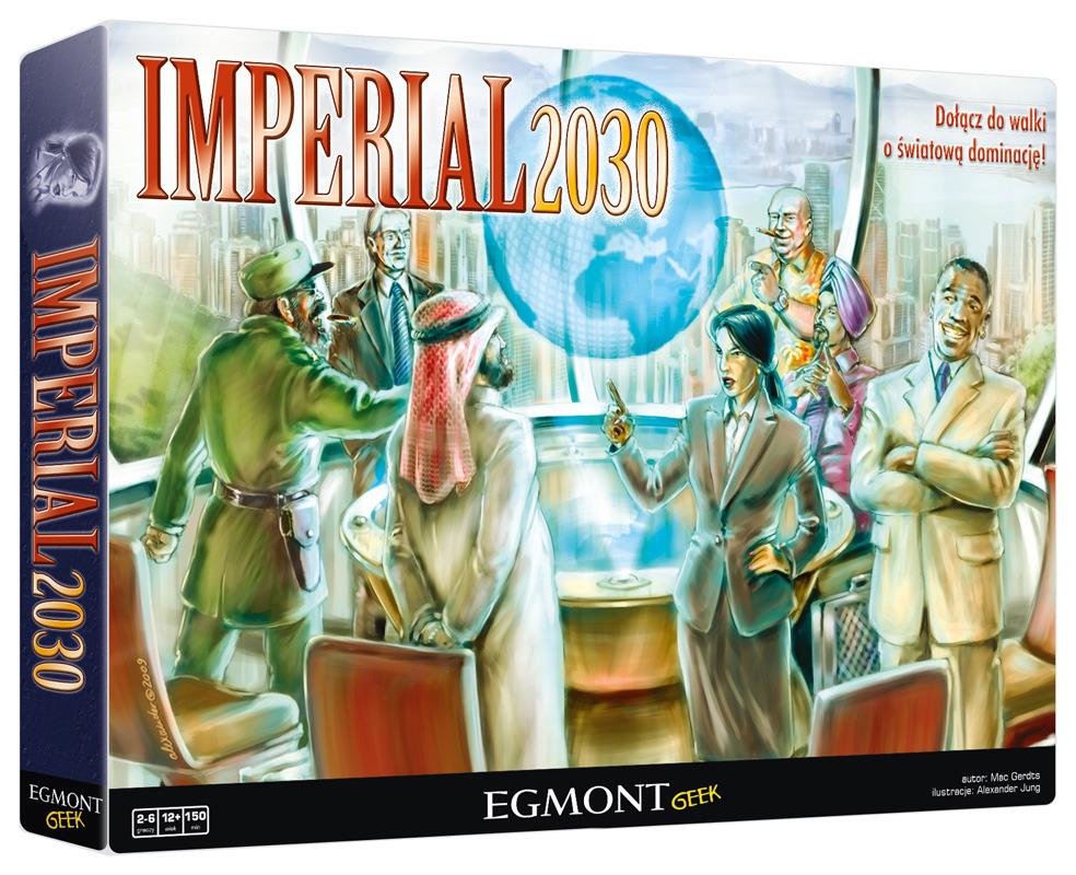 Gra planszowa - Imperial 2030 (BGG 7.7)
