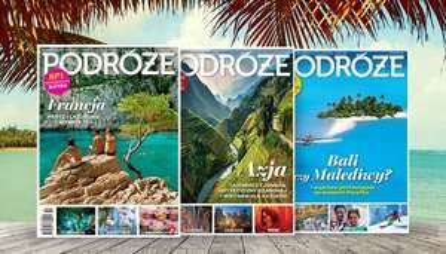 Półroczna prenumerata magazynu Podróże 50% taniej @ MyDeal