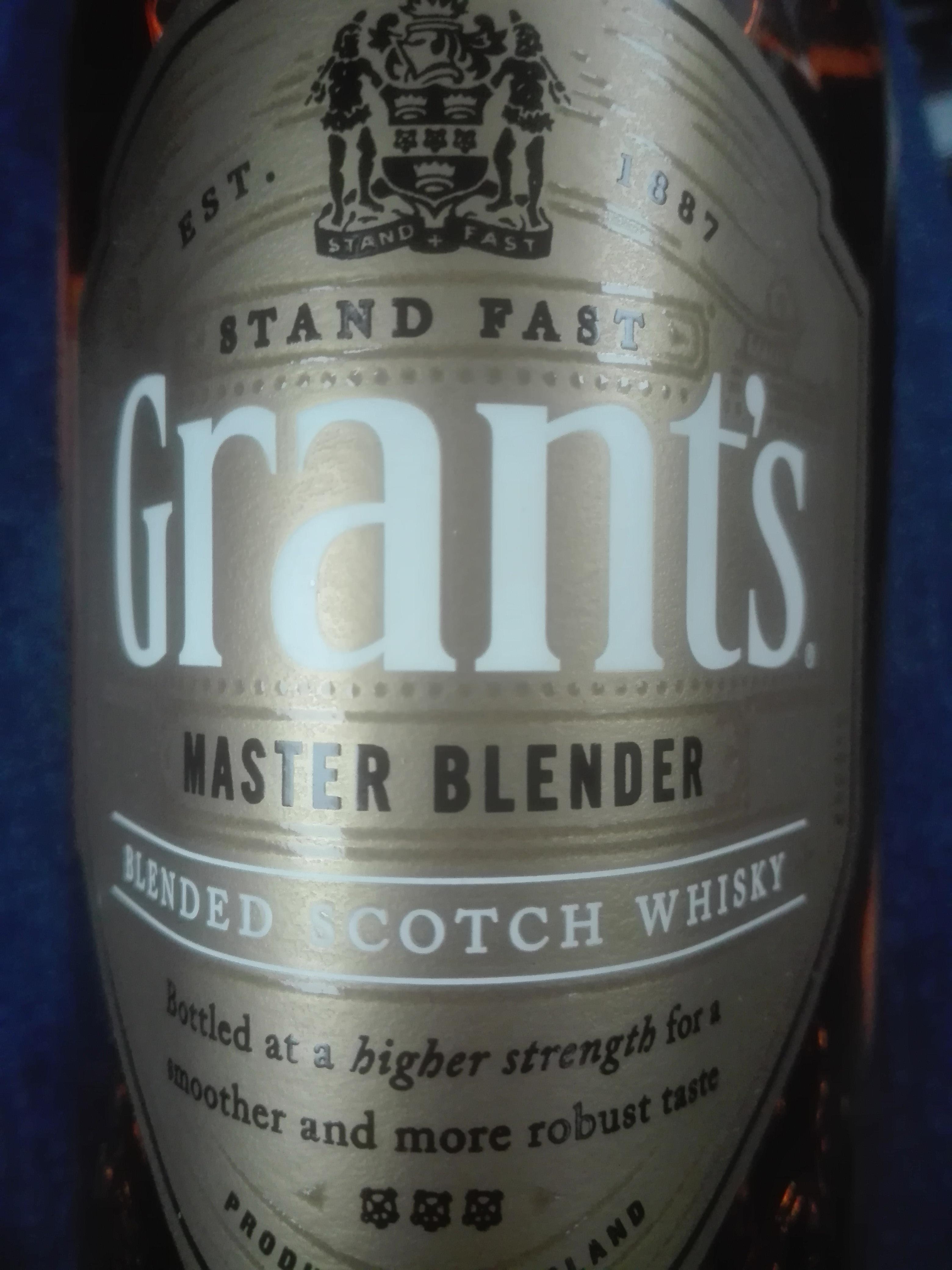 Whisky Grant's Master Blender 0,7 Biedronka