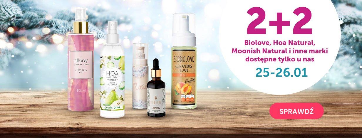 2+2 na marki dostępne tylko w @Kontigo - np. Biolove, Hoa Natural i inne