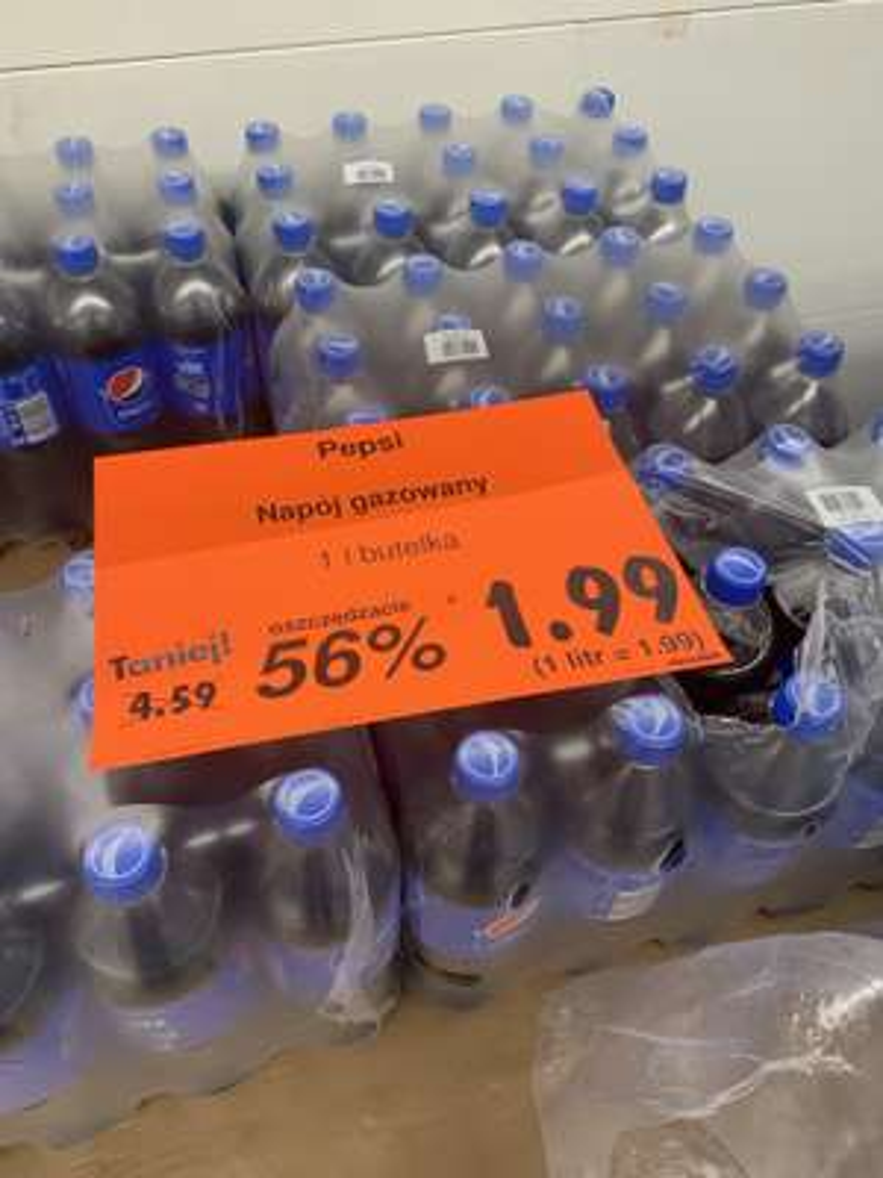 Pepsi 1 L napój gazowany Kaufland