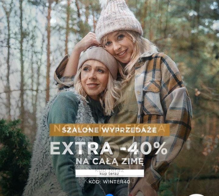 -40% na kolekcję zimową