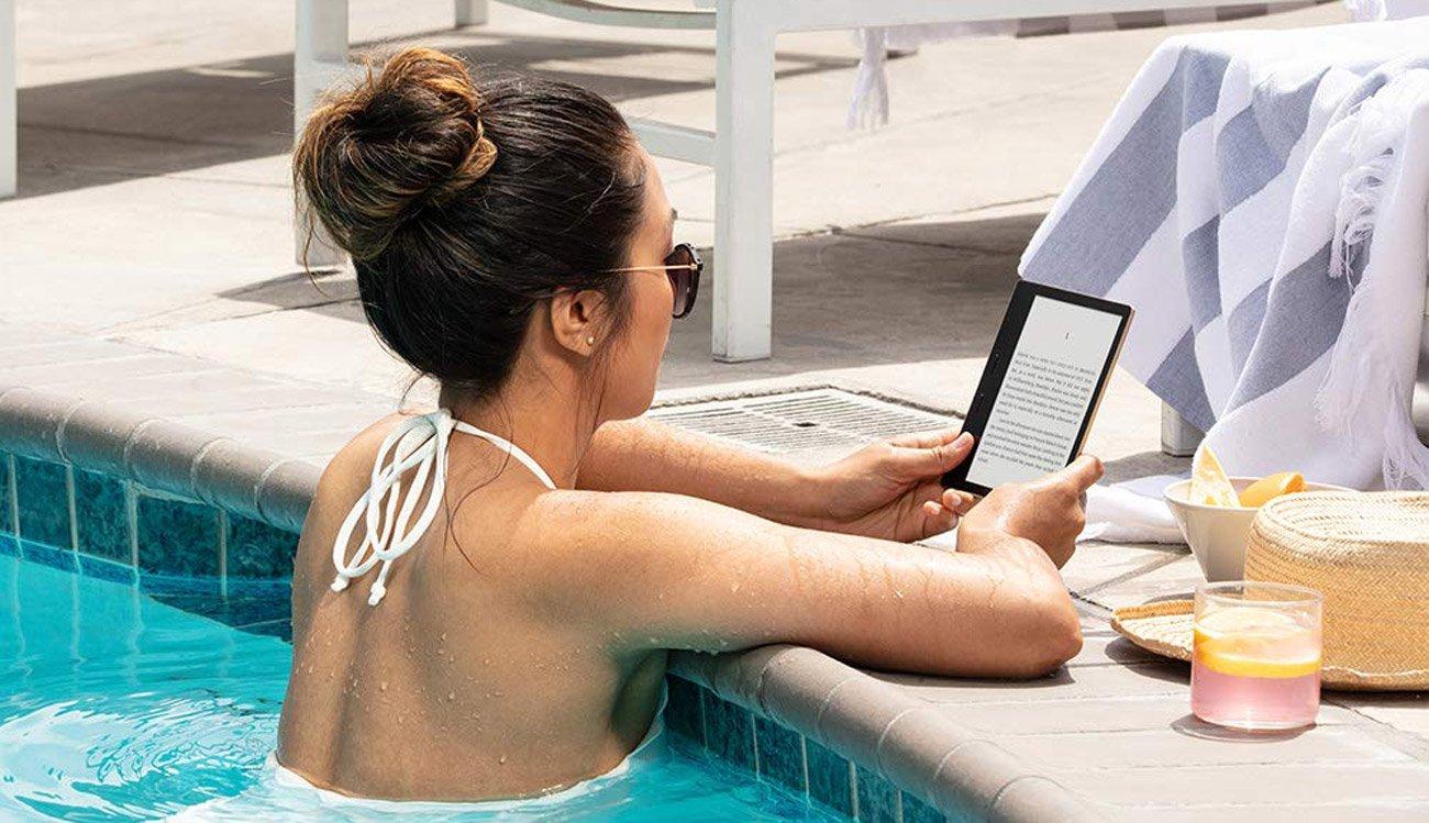 Kindle Oasis 3 8GB IPX8 grafitowy. Z reklamami