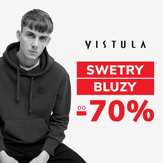 Do -70% na Swetry i Bluzy   Vistula