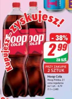 Hoop Cola 2l (cena przy zakupie 2szt.) - DINO