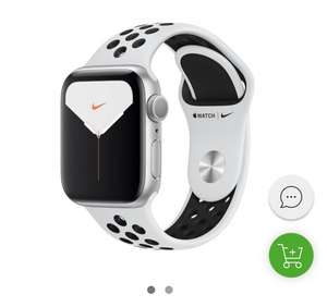 Apple Watch 5 Nike 44/Silver/Black Sport LTE