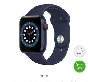 Apple Watch 6 44/Blue Aluminium/Deep Navy Sport LTE