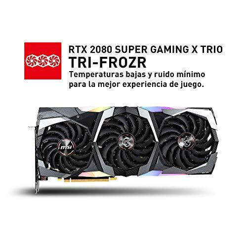 MSI RTX 2080 Super Gaming X Trio - VGA 8GB, GDDR6, HDMI, 3*DP, USB-C 2S 400€