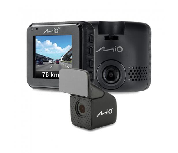 Wideorejestrator Mio MiVue C380 (GPS, tylna kamera) + karta 64GB gratis (także do innych modeli Mio i Garmin) @ x-kom