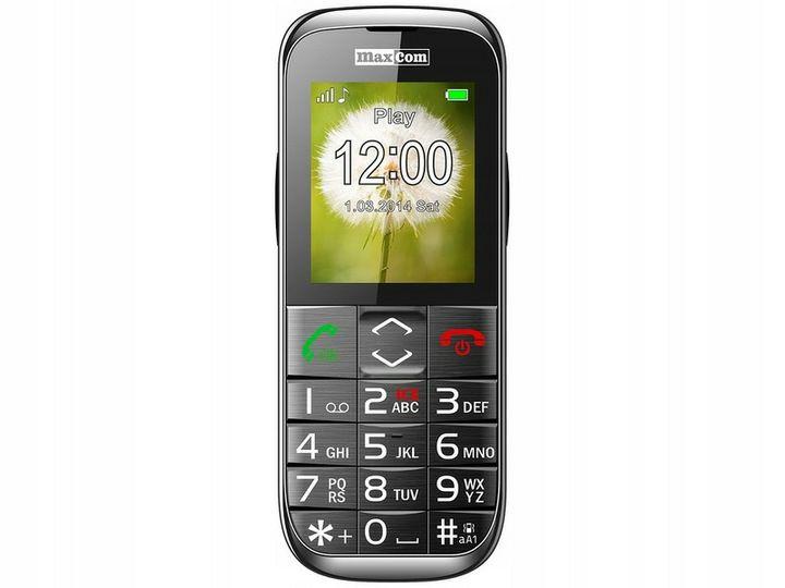 Telefon komórkowy MAXCOM MM720, odb.os. 0zł