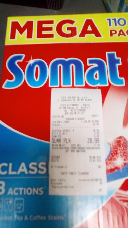 Tabletki Somat Classic 110 szt