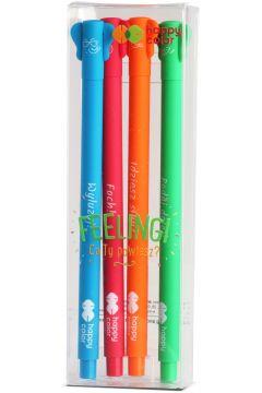 Długopis żelowy GDD Feelingi Elephant 4 szt., odb.os.0zł