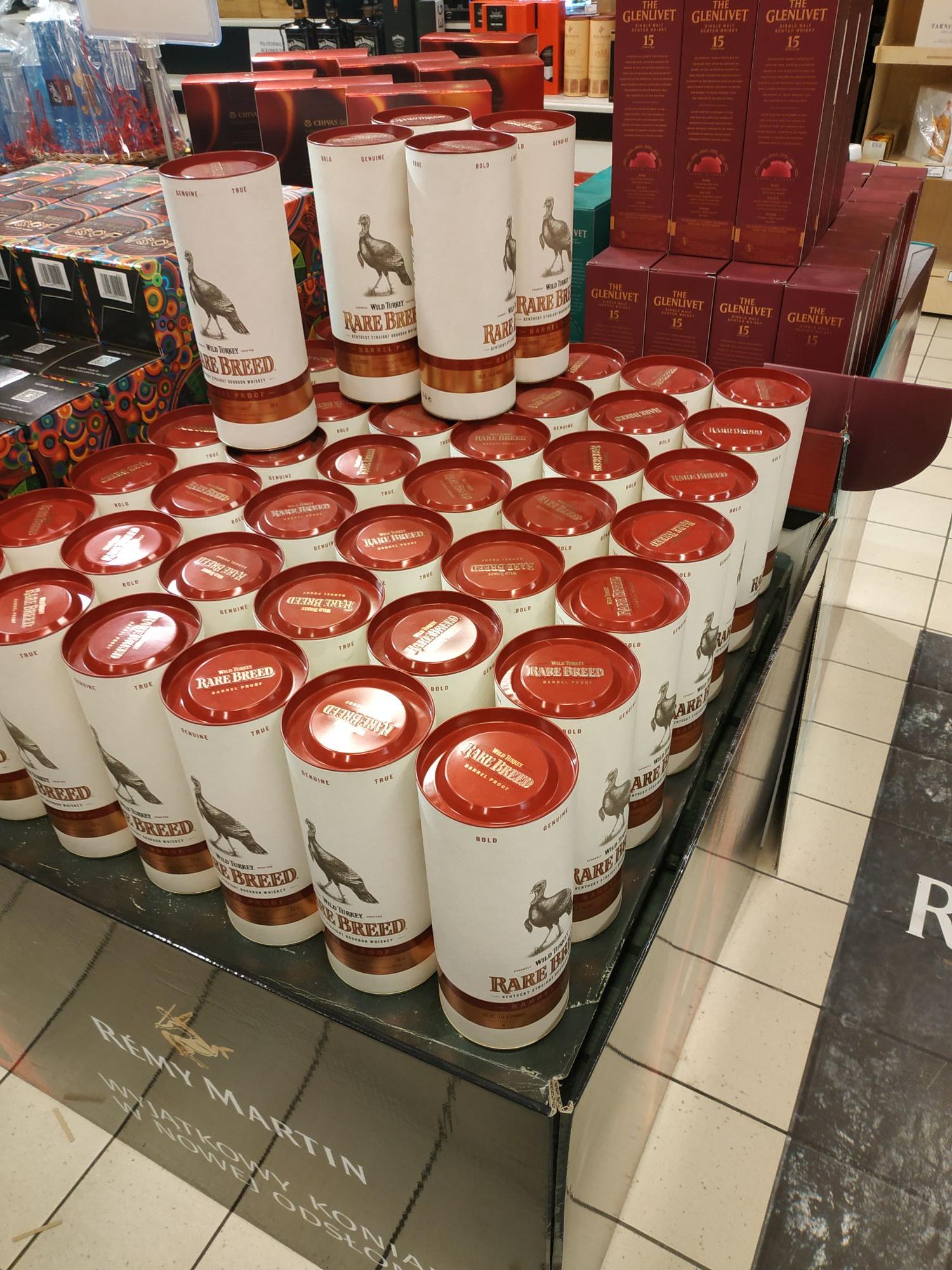 Alma Kraków Bourbon Wild Turkey Rare Breed Barrel