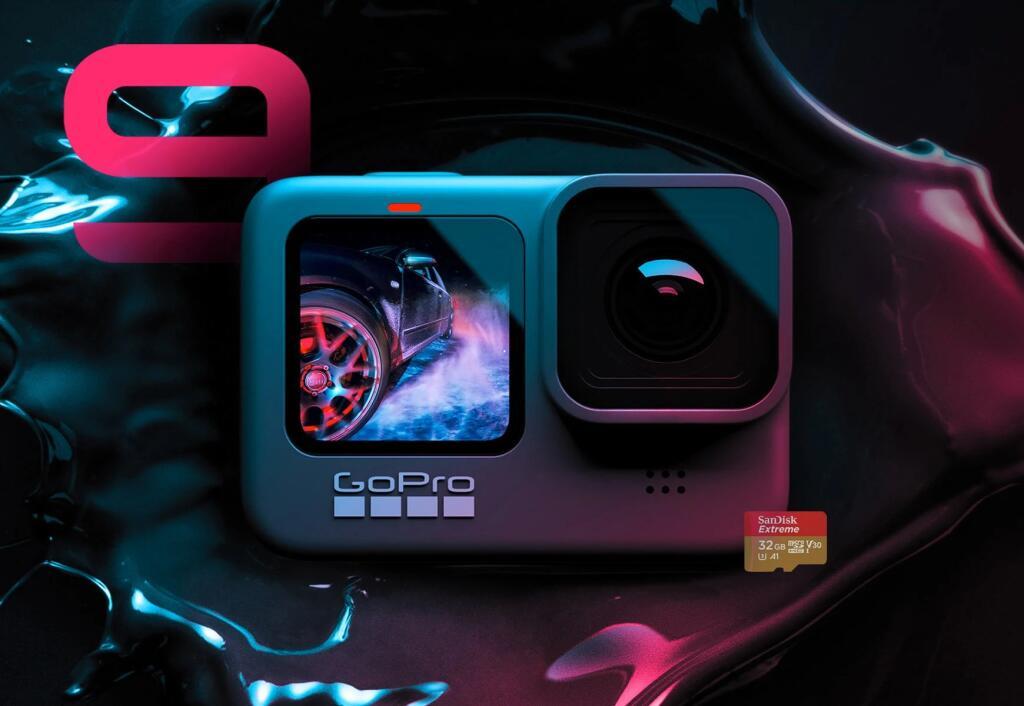 GoPro 9 Hero Black darmowa karta pamięci + darmowa dodatkowa bateria + darmowa wysyłka