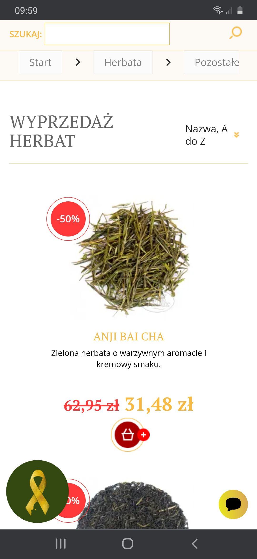 Herbata Anji Bai Cha 50g